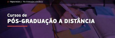SÃO 25 OPÇÕES DE CURSOS DA PÓS-GRADUAÇÃO A DISTÂNCIA DA UNIPAR